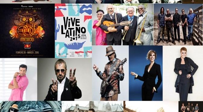 El 2015 traerá lo mejor de la escena musical a México