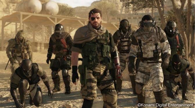Estrategia Cooperativa en Línea en la presentación de Metal Gear Online para última generación
