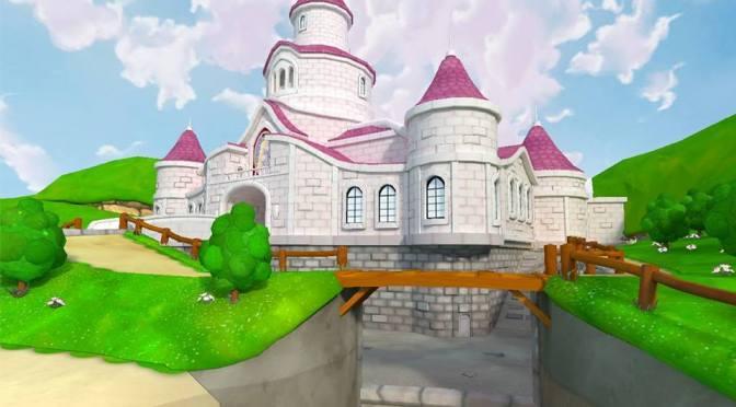 ¿Qué tal les parecería un remake de Super Mario 64 en HD?