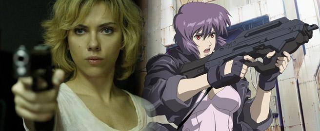 Scarlett Johanson será la protagonista de la película de Ghost in the Shell