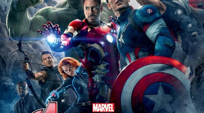 Vengadores unidos en el nuevo póster de 'Avengers: Age of Ultron'