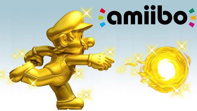 Amiibos de Mario Dorado al por mayor el día de su lanzamiento
