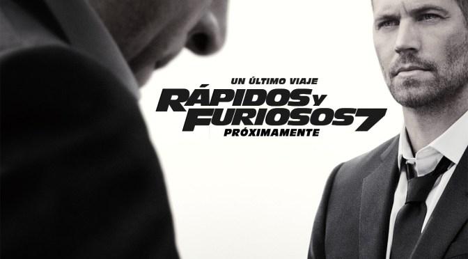 [Review] Rápidos y Furiosos 7. El adiós de Paul Walker