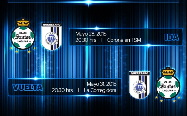 Definida la Final del Clausura 2015 – Querétaro vs Santos