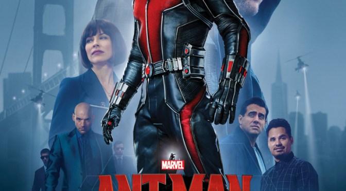 Llega el nuevo póster de 'Ant-Man'. Los héroes no pueden ser más grandes