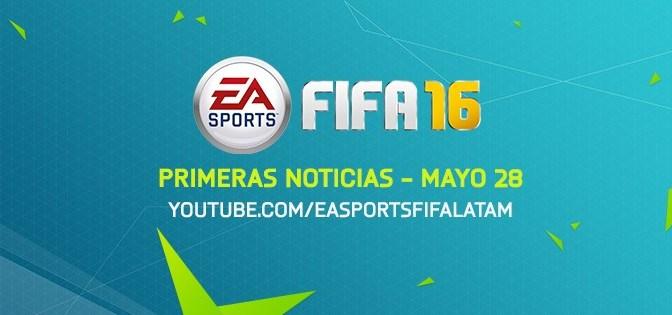 ¡Mañana tendremos los primeros detalles de FIFA 16!