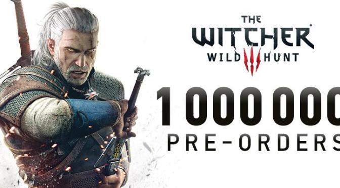 ¡Ya son más de 1 millón de copias preordenadas de The Witcher 3: Wild Hunt!
