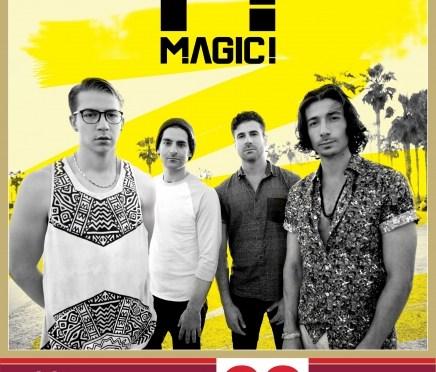 Magic! llega por primera vez a El Plaza Condesa