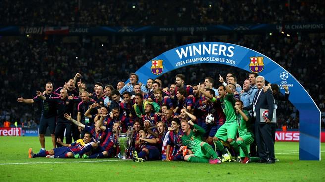 Barcelona conquista su quinta corona de la Champions League