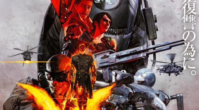 ¡Checa este póster promocional de MGSV: The Phantom Pain!