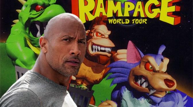 Dwayne Johnson tendrá que detener monstruos gigantes en la película de 'Rampage'