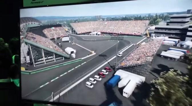Admira el Foro Sol y el circuito del GP de México en el gameplay de F1 2015
