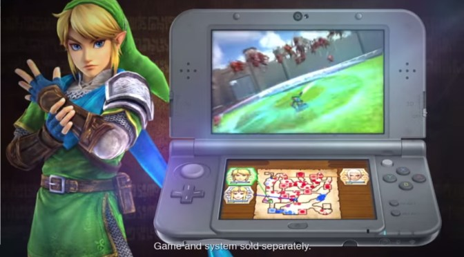 Hyrule Warriors Legends llega como una adaptación al Nintendo 3DS