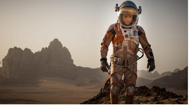 Matt Damon quedó atrapado en marte en primer tráiler de The Martian