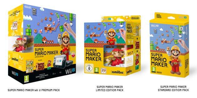 ¡Tendremos 3 versiones especiales de Mario Maker!