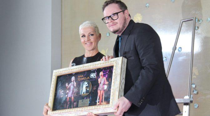 Ana Torroja consigue Disco de Oro y llega al Auditorio Nacional en el mes de noviembre
