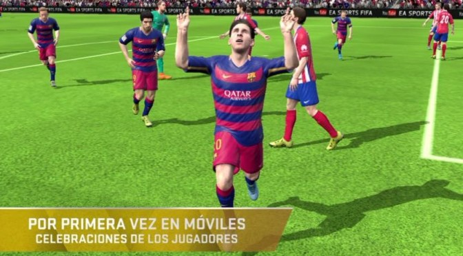 FIFA 16 ULTIMATE TEAM DISPONIBLE PARA MÓVILES A PARTIR DE HOY