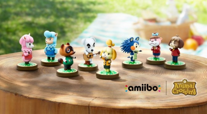 ¡Se confirman mas amiibo para la colección de Animal Crossing!