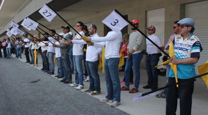 Con más de 800 participantes se realizó la práctica general rumbo al GP de México