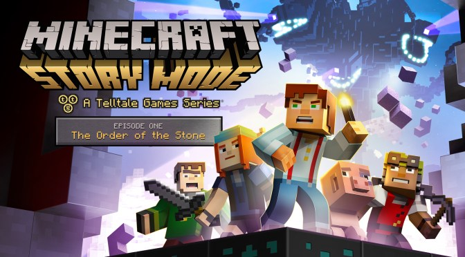 """[Review] Minecraft: Story Mode – Ep. 1 """"The Order of the Stone"""""""