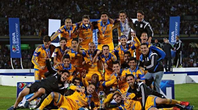 Tigres, Campeón del Apertura 2015