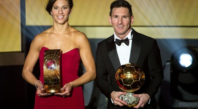 Messi y Lloyd triunfan en el FIFA Ballon d'Or 2015