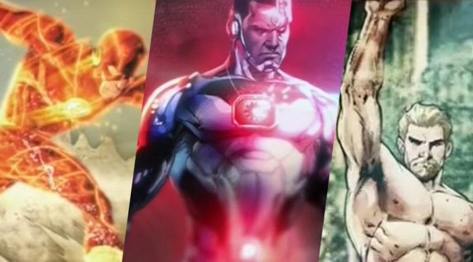 Conozcan al Aquaman, Flash y Cyborg que veremos en Justice League