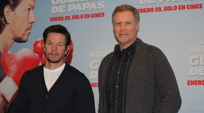 [Fotos] Conferencia de prensa y alfombra roja de Guerra de Papás con Mark Wahlberg y Will Ferrell