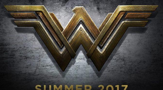 Se revela el logo oficial de Wonder Woman