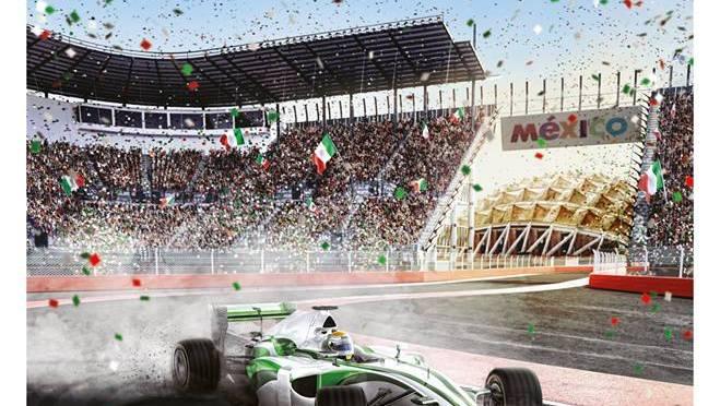 Presentan precios y cartel para el Gran Premio de México 2016