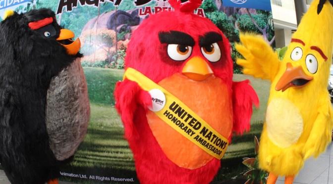 Angry Birds festeja el Día Internacional de la Felicidad en México y el mundo