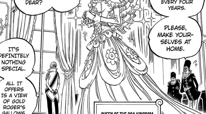 JM: One Piece 823: El mundo enardecido