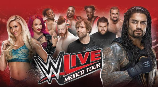 Regresa la WWE a México con dos tours para este 2016