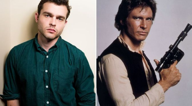 ¡Es oficial! Alden Ehrenreich será el joven Han Solo