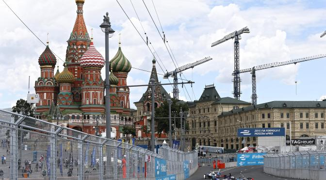 FÓRMULA E no correrá en Moscú el 4 de junio