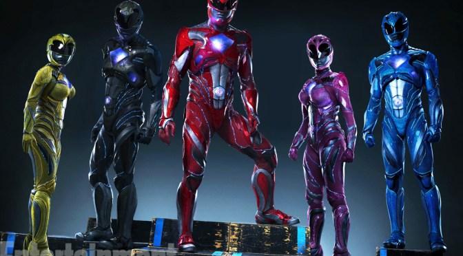 Los nuevos trajes de los Power Rangers dicen adiós al spandex y a la licra