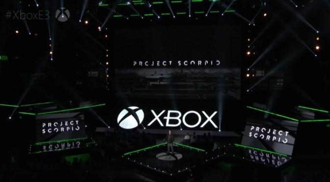 [E3 2016] Project Scorpio la nueva consola de Xbox ya permitirá jugar en 4K