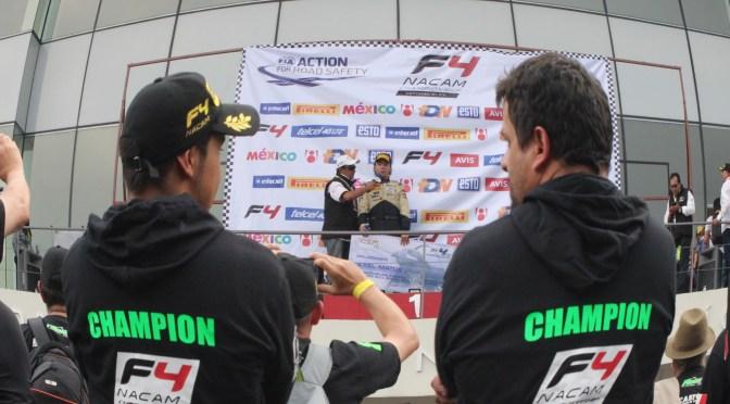 Axel Matus se convierte en el primer campeón de la FIA Fórmula 4 NACAM
