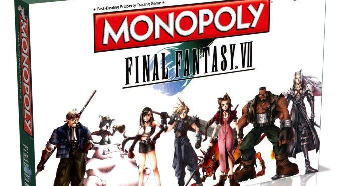 ¡Otro a la colección! Monopoly de Final Fantasy VII anunciado