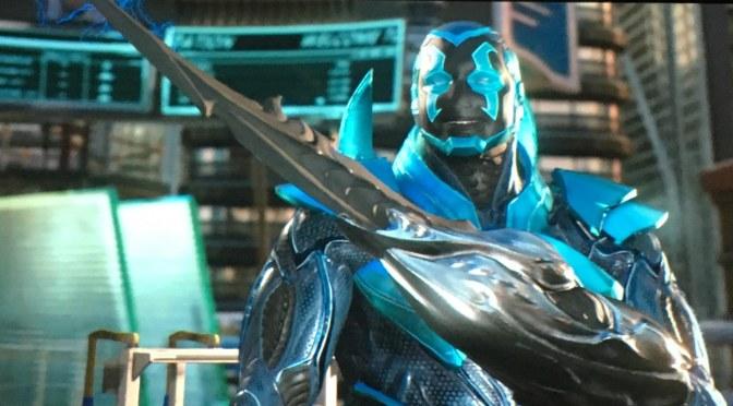 """<span class=""""entry-title-primary"""">Nuevo tráiler de Injustice 2 con Blue Bettle como protagonista</span> <span class=""""entry-subtitle"""">Dos grandes héroes de DC nos muestran sus habilidades en combate</span>"""