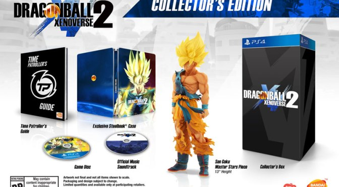 "<span class=""entry-title-primary"">Dragon Ball Xenoverse 2 llegará con la Super Saiyan Collector's Edition</span> <span class=""entry-subtitle"">It's over 9000!!!</span>"