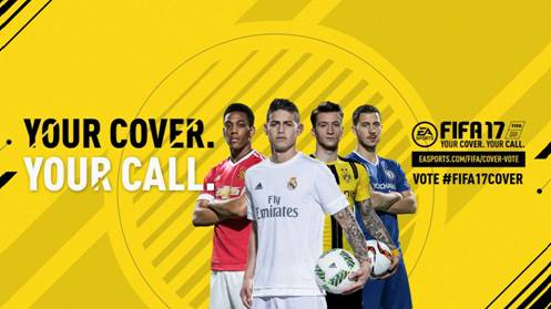 Lanzan votación para elegir a la estrella que estará en la portada de FIFA 17