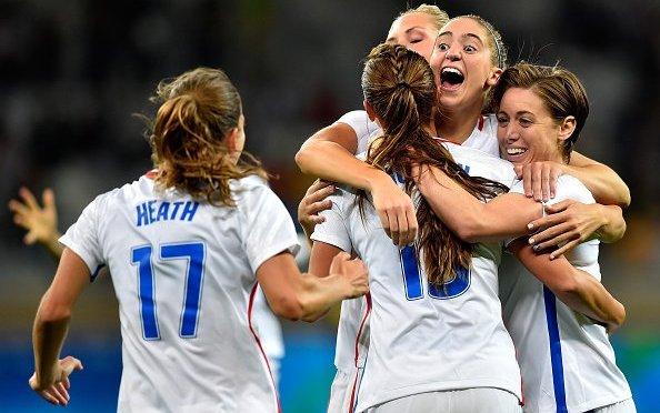 Arrancó el fútbol femenil la justa olímpica de Río 2016 con grandes goleadas