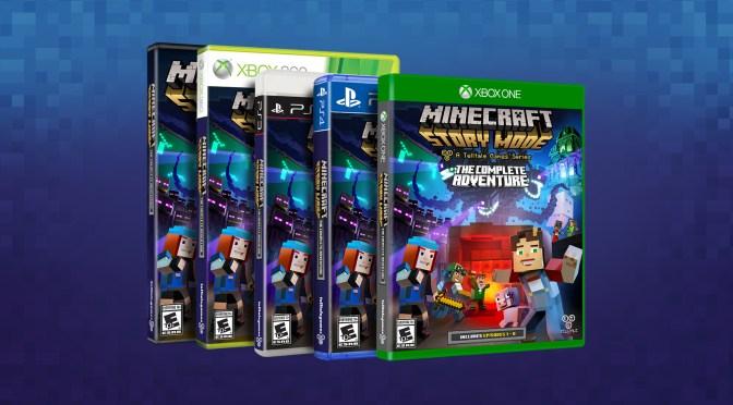 """<span class=""""entry-title-primary"""">Minecraft: Story Mode tendrá nueva versión física con el DLC</span> <span class=""""entry-subtitle"""">Llegará en octubre</span>"""