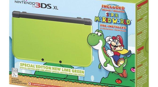 """<span class=""""entry-title-primary"""">Este es el nuevo New Nintendo 3DS XL verde limón exclusivo de Amazon</span> <span class=""""entry-subtitle"""">Incluye Super Mario World</span>"""