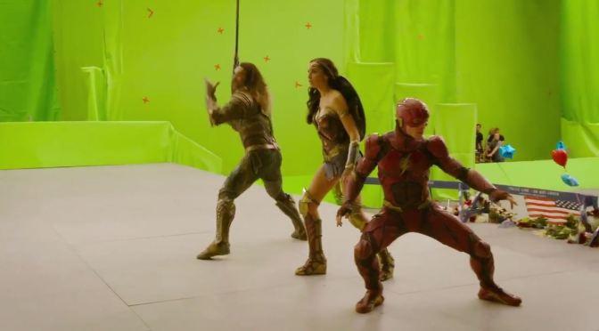 """<span class=""""entry-title-primary"""">Imperdible video detrás de cámaras de Justice League</span> <span class=""""entry-subtitle"""">También ellos se pueden divertir</span>"""