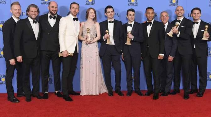 """<span class=""""entry-title-primary"""">Los ganadores de los Golden Globe Awards 2017</span> <span class=""""entry-subtitle"""">La La Land impone récord y gana en todas las categorías en las que fue nominada</span>"""