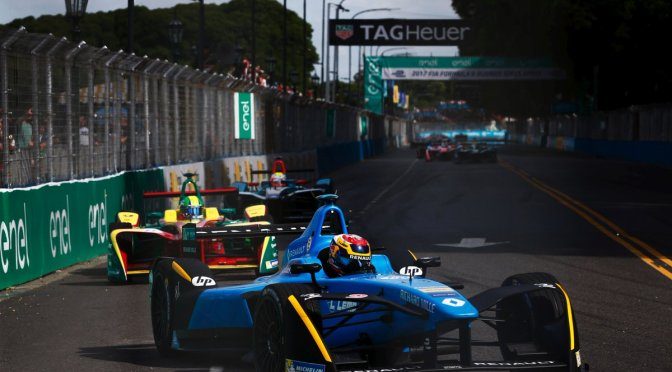 Buemi se lleva el Buenos Aires ePrix y conquista tres victorias al hilo en la Fórmula E