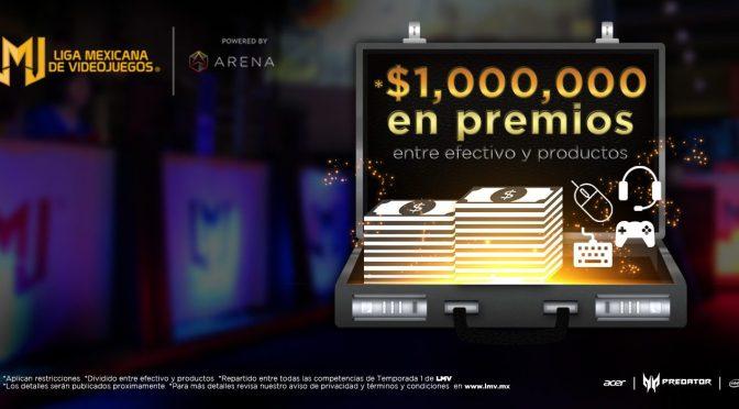 """<span class=""""entry-title-primary"""">1 millón de pesos en premios en la temporada 1 de la LMV</span> <span class=""""entry-subtitle"""">Liga Mexicana de Videojuegos para los que no saben</span>"""