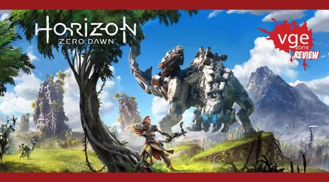 """<span class=""""entry-title-primary"""">[Review] Horizon: Zero Dawn</span> <span class=""""entry-subtitle"""">Un arco y un mundo lleno de máquinas suena bastante prometedor ... ¿No?</span>"""
